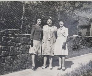 Grandma and sister