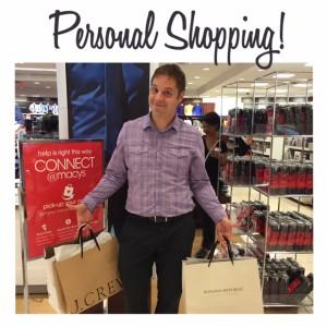 Blake's personal shopping